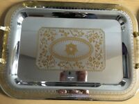 Royal dining afternoon tea tray. Brand new unused