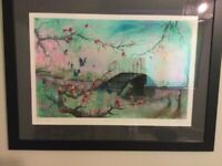 """Chris River Signed Limited Addition Print """"Killing Fields"""""""