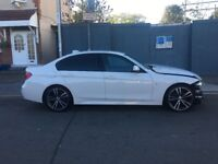 UNRECORDED 2017 17 BMW 320D M SPORT F30 AUTO DAMAGED REPAIRABLE SALVAGE
