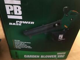 PB garden blower/vac brand new
