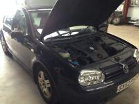 VW GOLF 1.9TDI 2002 FOR SPARES OR REPAIR