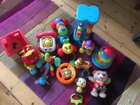Bundle of early learning toys