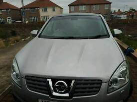 Nissan quashqai low mileage top of the range auto