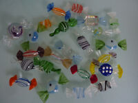 Collection of vintage Glass murano style Sweets - (23)