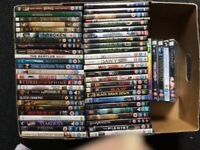 55 dvd,s includes several complete series. £10 the lot.