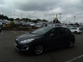 2012 12 PEUGEOT 308 1.6 HDI ACTIVE 5D 92 BHP **** GUARANTEED FINANCE **** PART EX WELCOME ****