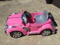 Pink 6v Rolls Royce NEW IN BOX