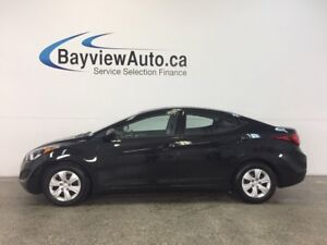 2016 Hyundai ELANTRA L- 1.8L|AUTO|ECO MODE|A/C|PWR GROUP!