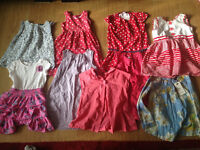 Girls clothing bundle 3-4 years 31 items, mostly M&S £15.00