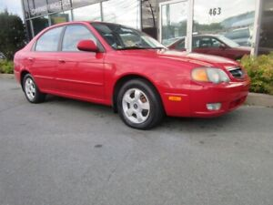 2003 Kia Spectra 1.8L HATCH W/ AC ALLOYS PWR MIRRORS AND WINDOWS