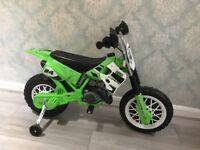 Child's electric motorbike bike