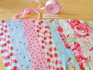 Bunting Kit Cath Kidston Fabric 16 Flags Complete Sewing Craft Kit Sewintocrafts