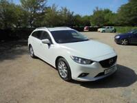 Mazda Mazda6 D SE-L Nav (white) 2013