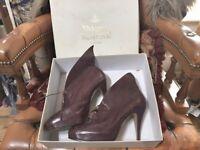 Vivienne Westwood Winged Leather heels 80's