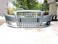 Audi A4 S line front bumper and grill