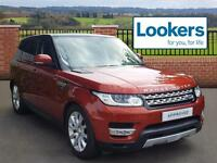 Land Rover Range Rover Sport SDV6 HSE (red) 2014-04-23