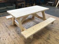 picnic table / bench bars clubs , schools , caravans work places