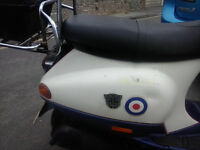 Vespa ET4 Motorcycle / Moped, NEW MOT