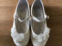 Girls Bridesmaid Shoes by Next- size 9