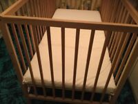 cot immaculate condition