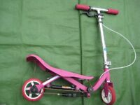 Spacescooter Junior Pink - Model X360 for only £15.00