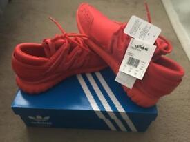 adidas TUBULAR NOVA RED SHOES