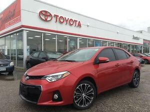 2014 Toyota Corolla S Sunroof Alloy One Owner 1.9% Rate O.A.C.