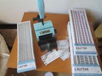 Zutter Binding Machine