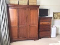 REDUCED!!! Willis and Gambier complete Louis Philippe bedroom furniture set