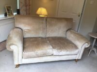 Laura Ashley Kingston 2 Seater Sofa in Villandry Champagne