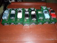 8 Corgi Classic Sports Cars