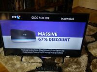 Technika 32 inch LED TV built in freeview