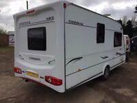 Compass corona 2 berth 2006 model full awning + motor mover all paperwork
