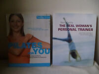 PILATES FOR YOU & THE REAL WOMAN'S PERSONAL TRAINER BOOKS