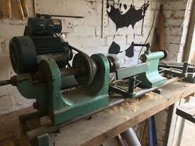 Woodworking lathe