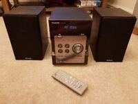 Panasonic Home Stereo SA-PM46DB, CD Player, DAB/FM, MP3, USB port, 3.5mm port
