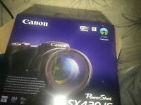 CANON SX420 20MP 42X ZOOM BRIDGE BLACK