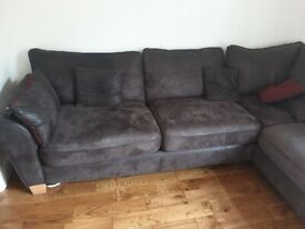 Left hand fabric washable sofa 280×200