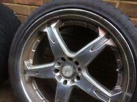 Maina racing wheels for vito