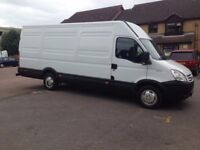 Man and large van, removals