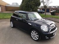 2008 Mini Cooper S. 1.6 turbo 12 months mot/3 months parts and labour warranty