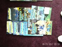 Large quantity of home football programmes various clubs