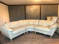 Cream Corner Sofa for Sale £125 ONO