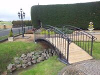 13ft Steel Garden Bridge | FREE DELIVERY NATIONWIDE