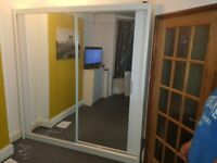 💯LIMITED TIME OFFER 2 AND 3 DOORS SLIDING WARDROBES WITH FULL MIRRORS, SHELVES, RAILS