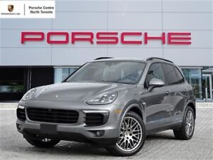 2017 Porsche Cayenne 20 WHEELS, LCA, UNLIMITED KM WARRANTY