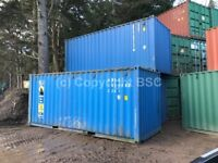 Used 20ft shipping containers available in Surrey