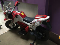 Electric motor bike mint condition