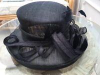Navy mother of the bride/groom hat