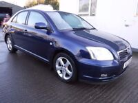 2005 Toyota Avensis T4 D-4D 2.2 *** rear damaged repairable ***
